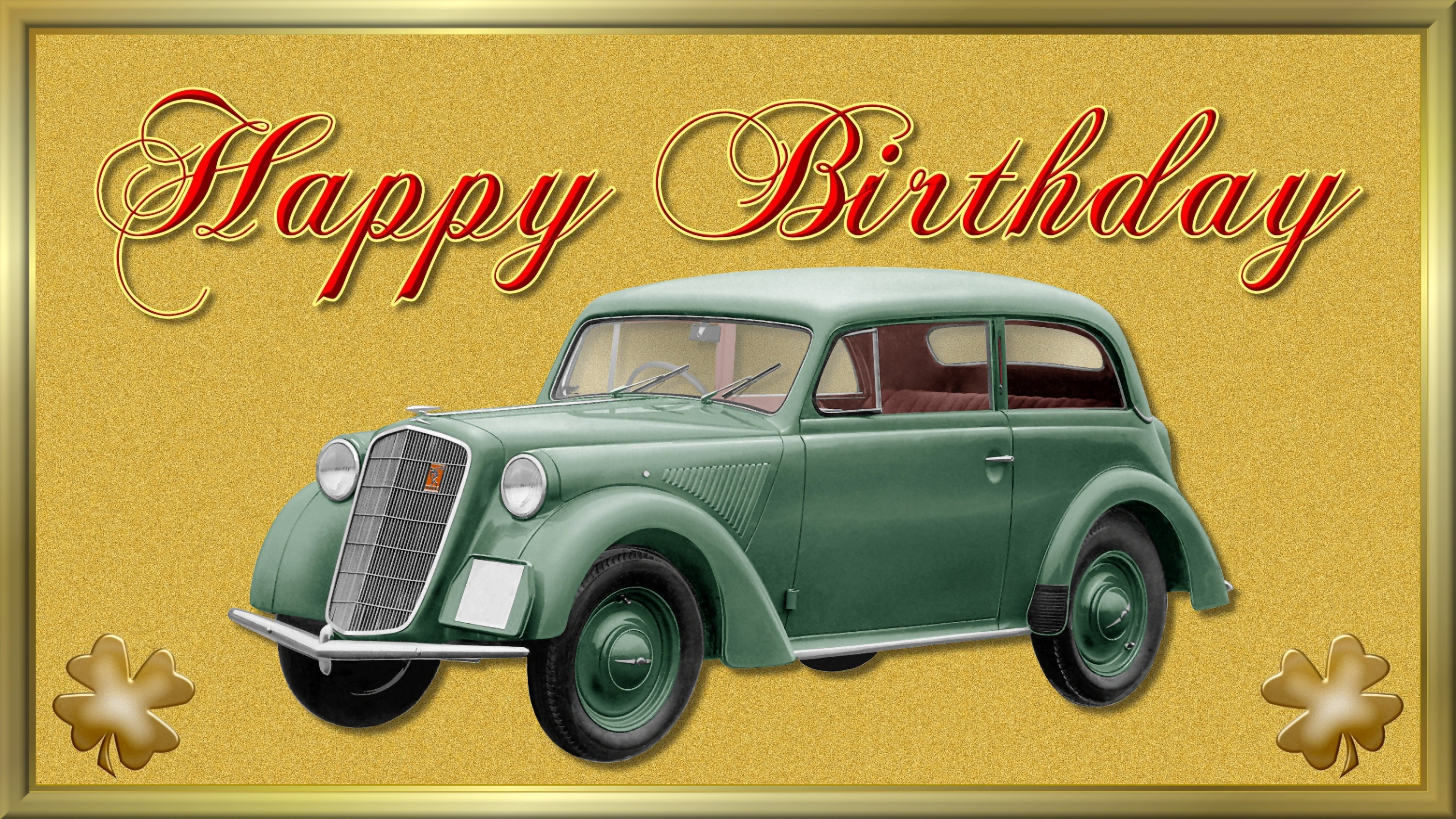 Happy Birthday Wallpaper Opel Rekord