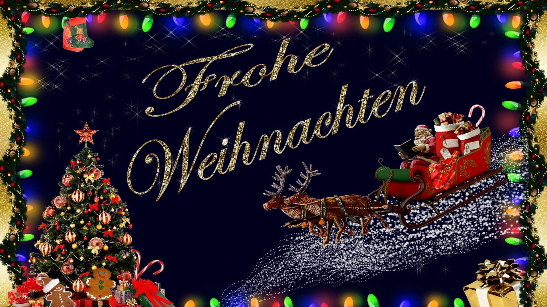 hintergrundbilder weihnachten lustig